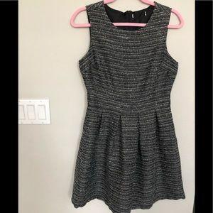 ModCloth tweed pleated dress